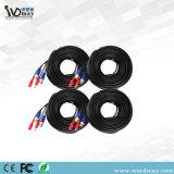 Cable coaxial del CCTV de la seguridad del Wdm del cable video profesional de los accesorios