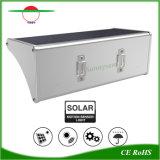 Batería recargable 60 LEDs Energía Solar jardín lámpara de luz de pared resistente al agua