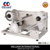 Máquina de corte de bobinas de papel digital, Cortador de Rótulo Rotativo