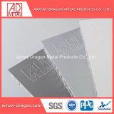 PVDF Panneau mural alvéolaire en aluminium pour mur-rideau