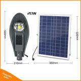 Hoge Openlucht LEIDENE van de Straatlantaarn van het Zonnepaneel van de Macht 50W Lamp voor de Verlichting van de Weg van de Tuin