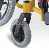 طبيّة صحّة أداة ألومنيوم منافس من الوزن الخفيف يطوي أطفال خاصّ بطبّ الأطفال كرسيّ ذو عجلات يدويّة لأنّ أطفال