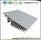 양극 처리하는 LED 가로등을%s 주조 알루미늄 방열기를 정지하십시오