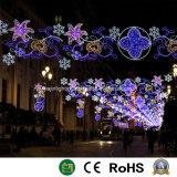 [2د] [لد] شارع الحافز ضوء عيد ميلاد المسيح شارع زخرفة ضوء