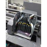 Byc A2 mais a máquina de impressão de couro UV do plutônio do diodo emissor de luz do tamanho