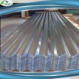 Strato ondulato rivestito del tetto dello zinco