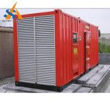 Cummins Dieselの発電所によって無声エンジンを搭載する1500kVA