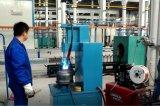 La válvula del cilindro de gas GLP soldadora