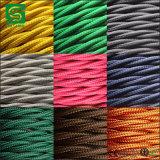 Het elektro Textiel van de Katoenen van het Koord van de Kleur van de Kabel van de Stof Licht Tegenhanger van de Draad