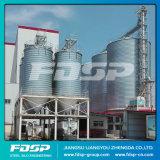 Silo en fábrica del edificio de la estructura de acero del precio para el almacenaje del grano
