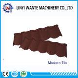 Волна современных металлических кровельных листов каменной плиткой с покрытием для строительных материалов