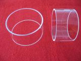 高品質のポーランドの明確な水晶ガラスのフランジ