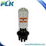 FTTX FTTH Direct-Buried montado en el poste de la antena de la caja de distribución de fibra óptica de la red de acceso tipo Domo Alojamiento