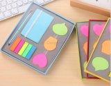 Blocos de papelaria personalizado com caneta, Pet autocolantes, conjunto de notebook