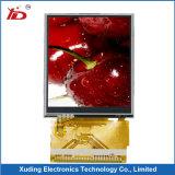 2.4 Bildschirm des Zoll-240*320 der Auflösung-TFT LCD mit widerstrebendem Touch Screen