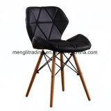 """식당 침실 Kitchen White를 위한 EMS Style Side Dining Chair 18 """" Height Arm Less Accent Chairs Natural Beech Wood Base Legs"""