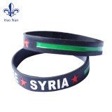 Heißes verkaufendes förderndes Silikonwristband-Form-Armband