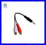 2RCA wijfje aan 3.5mm Kabel
