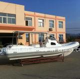 8.3M Liya costela inflável Barco casco de fibra de barco de cabina