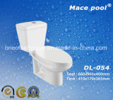 Salle de bain wc articles sanitaires en céramique de toilette en deux pièces wc (CL-016)