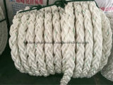 Corda misturada da amarração do poliéster e do Polypropylene