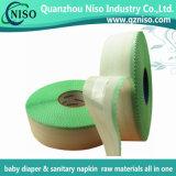 大人のおむつの原料のための赤ん坊のおむつの接着剤PPテープそしてマジック側面テープ