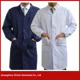 Fornecedor personalizado da camisa do trabalho das mulheres dos homens da boa qualidade (W227)