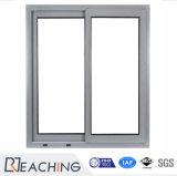 열 틈 유리제 석쇠 디자인 알루미늄 표준 크기 슬라이딩 윈도우