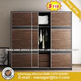 La moda moderna Color doble atractivo armario de madera (HX-8NR1091)