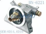 Coperchio laterale di alluminio del radiatore dell'olio del Mitsubishi (OEM: 6D14, 6D16)
