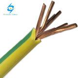 25mm2 Cable de cobre aislado de trenzado de cables eléctricos aislados en PVC