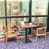Mobiliário de jantar estilo lounge Cadeira de jantar com braço de apoio
