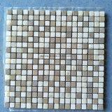 Таким образом, 10мм толщина бежевый/белого цвета сливок квадратных использованием мозаики на кухне