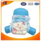 Pañal del bebé de África con buena absorbencia con la cinta mágica