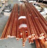 Não acendendo a barra de cobre, a barra de cobre vermelha de Matel, segurança utiliza ferramentas a barra. Barra de bronze de Matel