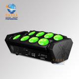 Rashaの段階のイベント党のための熱い販売8LEDs*10W 4in1 LEDのくもライトRGBW LEDくもの効果ライト