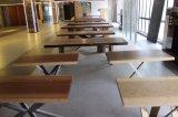 설계된 단단한 나무 테이블