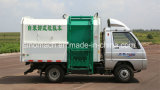 5 Cubic Meters Hydraulic Lifter Small / Mini Garbage Truck