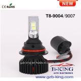 新しいT8 8000lmフィリップスZesのクリー族車LEDのヘッドライト(H4 H13 9004 9007)