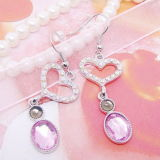 Alliage de zinc haute qualité mignon charme Deerlet Earring