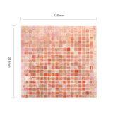 Mosaico del azulejo del vidrio manchado de la alta calidad para la decoración de la pared de la cocina