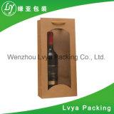 Luxo de varejo feito sob encomenda saco de papel impresso para vinhos da embalagem