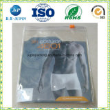 Saco de PVC para embalar Garment Underware Embalagem Zipper Fechar (jp-033)