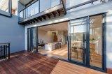 Portes et portes coulissantes en aluminium vitrées décontractées