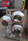 Scala di laboratorio di Bgb-5/10/20kg con il POT intercambiabile/utilizzata nella macchina dell'università/farmaceutica Laboratory/SS316 di alta qualità di rivestimento/dispositivo a induzione automatico della pellicola