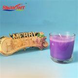 Lange brennende duftende Kerze für Glasglas Lacker