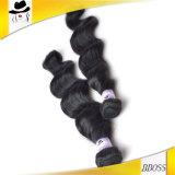 新しい方法様式の加工されていないペルーの人間の毛髪