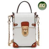 Новейший стиль моды PU сотовый телефон с помощью строп Bag сумку с цепью Си8567