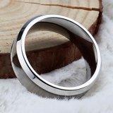 De hete Lege Ring van het Wolfram van de Juwelen van de Verkoop Goedkope In het groot voor Inlegsel