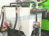 La puerta cerrada la puerta de prensa eléctrica de la máquina de estampado de piel